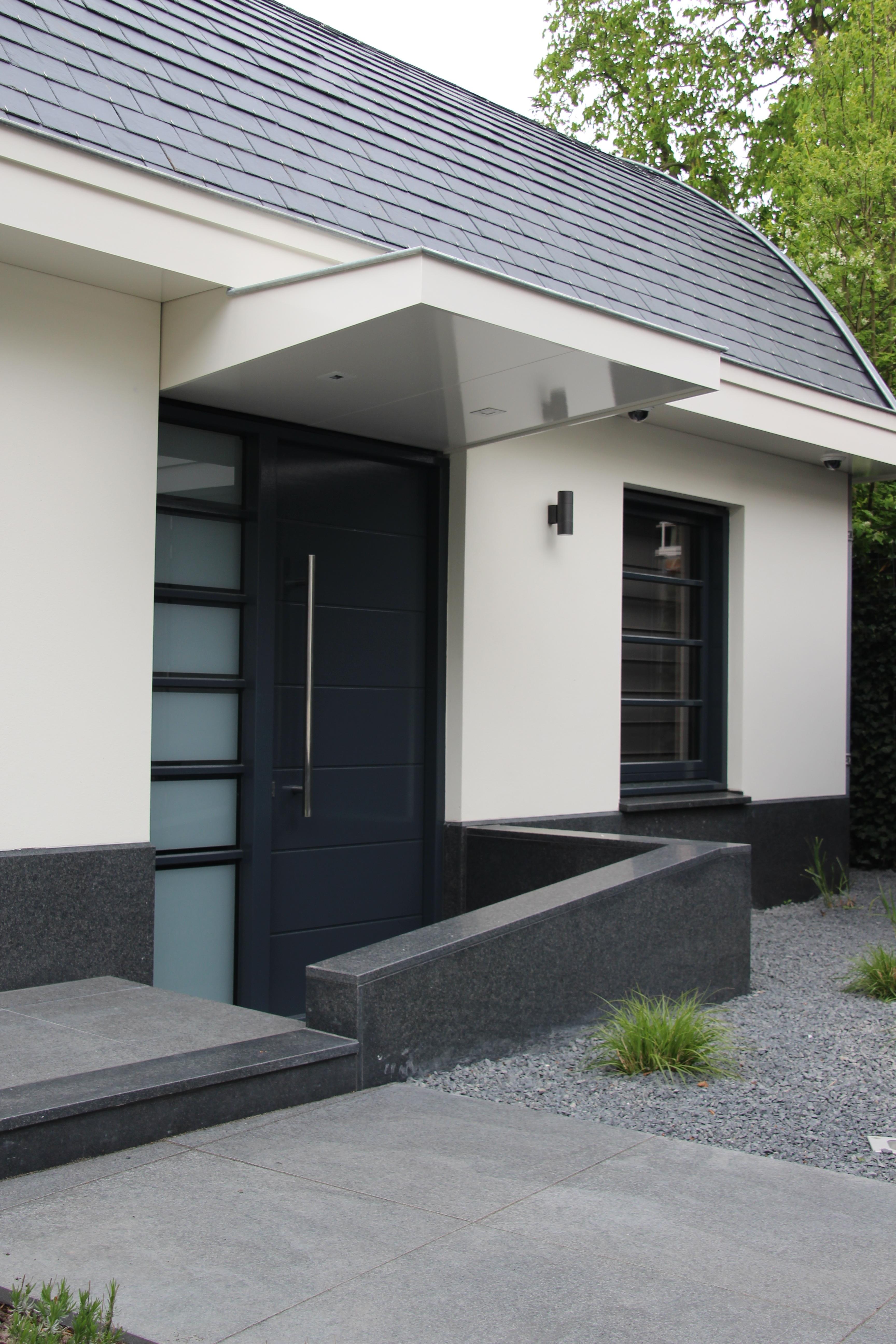 Nieuwbouw villa bergen nh ewp for Bergen garage door